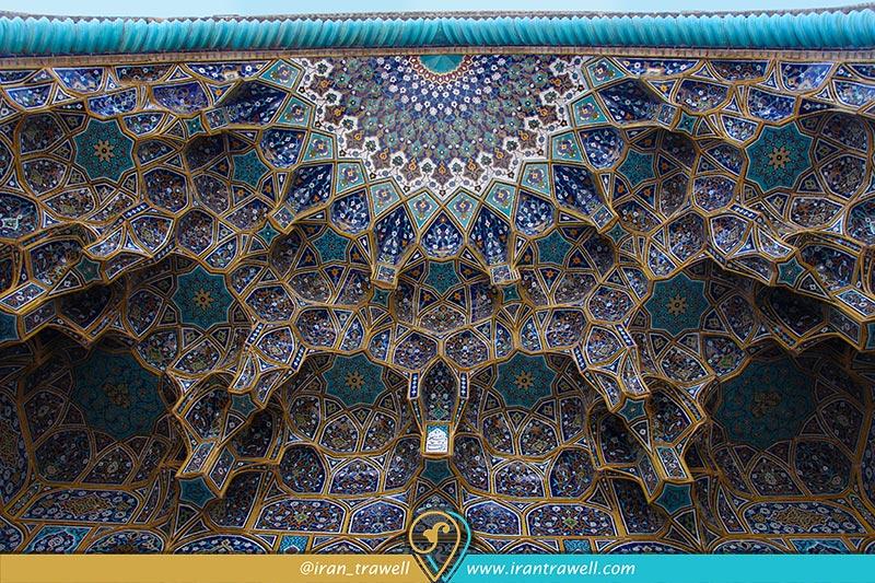تزئینات مسجد سید اصفهان