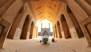مسجد جامع عتیق اصفهان | الگوی مساجد ایرانی