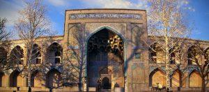 مدرسه چهارباغ | شاهکار کاشی کاری اصفهان