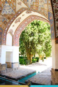 عمارت شتورگلوی فتحعلی شاه در باغ فین کاشان