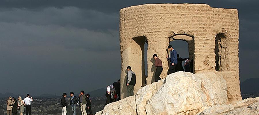 آتشگاه اصفهان یا کوه آتشگاه | یادگار ایران باستان