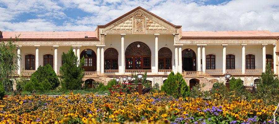 موزه قاجار تبریز | باغموزهی زیبای قاجار