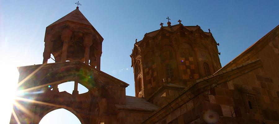 کلیسای سن استپانوس جلفا | شگفتی شکوهمند