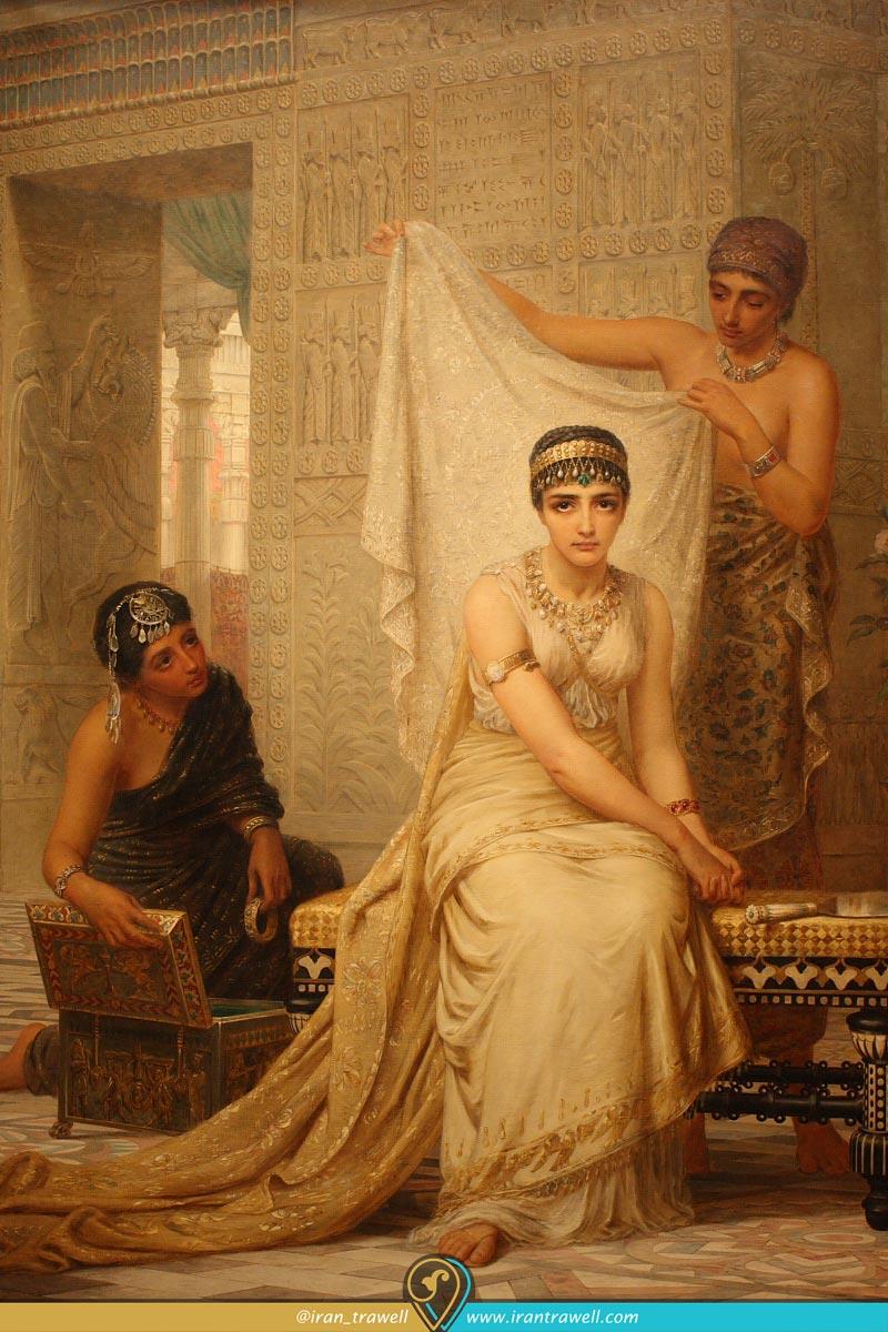 ملکه ی دربار خشایارشاه Esther Haram