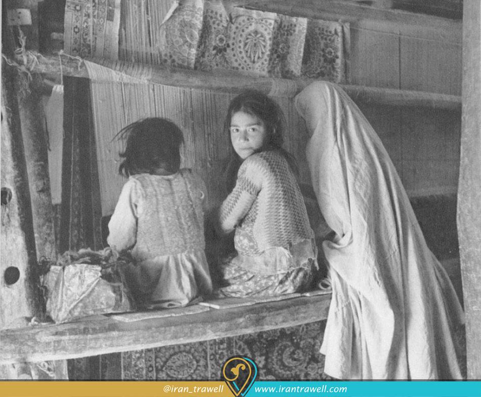 کارگاه های خانگی در دوره قاجار