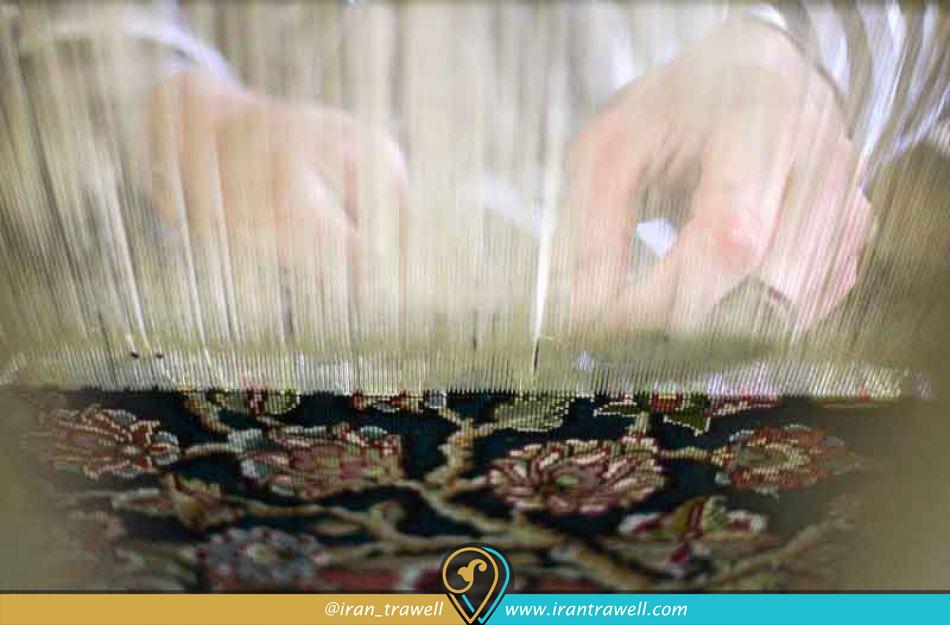 فرش دستباف تبریز آمیزه هنر و صنعت