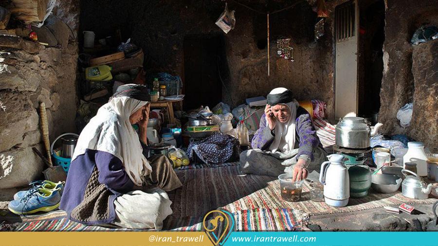 زندگی سنتی مردم روستای میمند