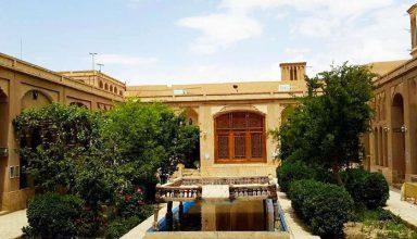 خانه لاری های یزد   نمونه ای از معماری خانه های ایرانی در یزد