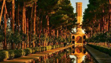 باغ دولت آباد   نمونه ای جذاب از باغ ایرانی