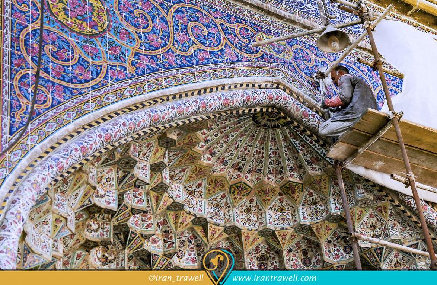 بازسازی مسجد وکیل شیراز
