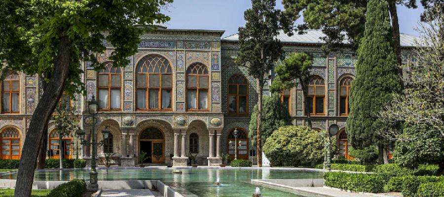 کاخ گلستان تنها اثر ثبت جهانی تهران