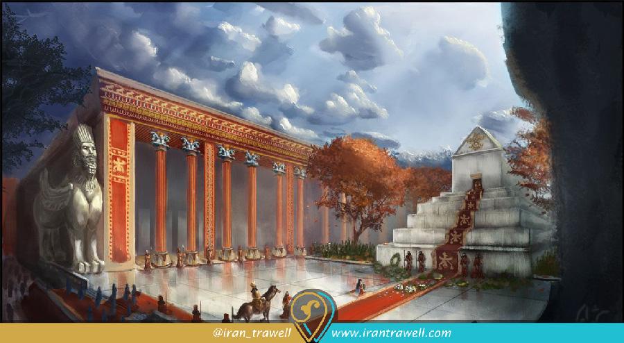 آرامگاه کورش در زمان هخامنشیان
