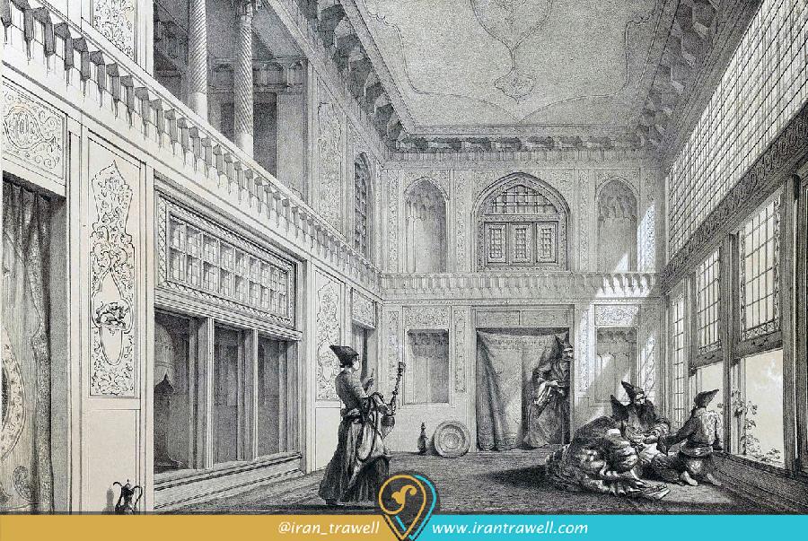 کاخ گلستان در عصر قاجار
