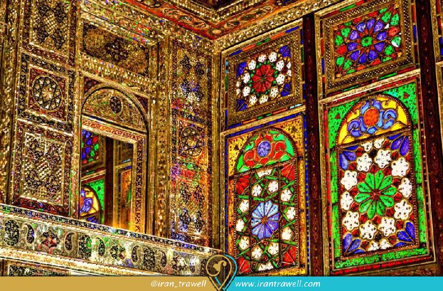 تزئینات داخلی خانه زینت الملوک