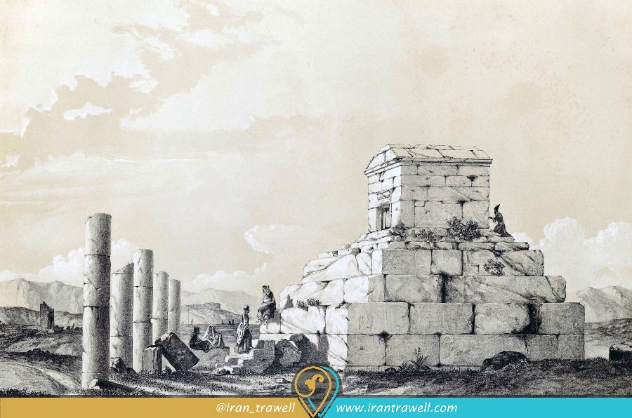 پاسارگاد در عصر قاجار