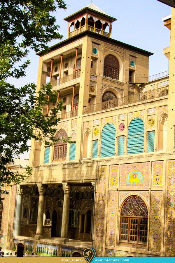 شمس العماره | کاخ گلستان
