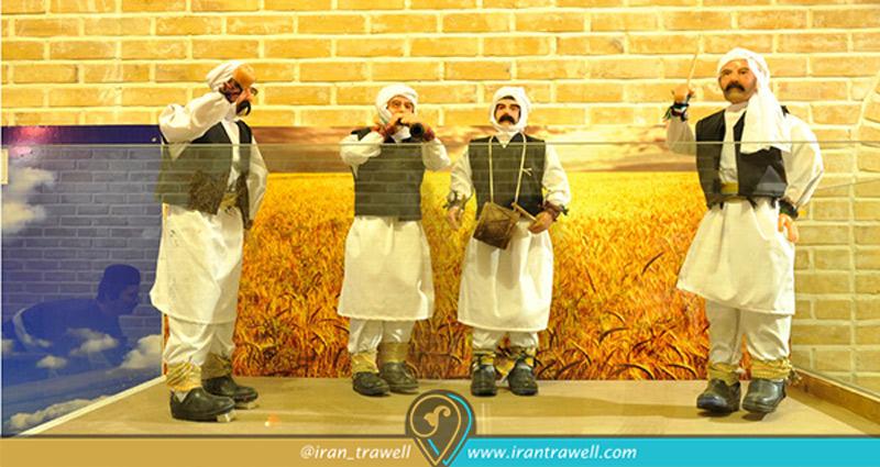رقص اپر موزهی نان مشهد