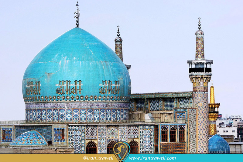 تزئینات مسجد گوهرشاد مشهد