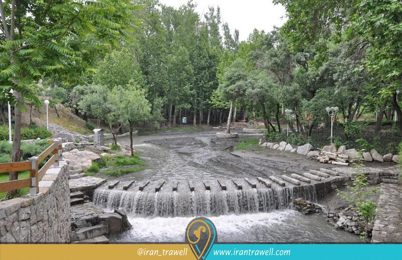 دریاچهی فصلی پارک جنگلی وکیل آباد