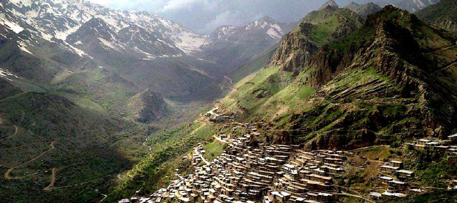 اورامانات و کوه های سر به فلک کشده کردستان
