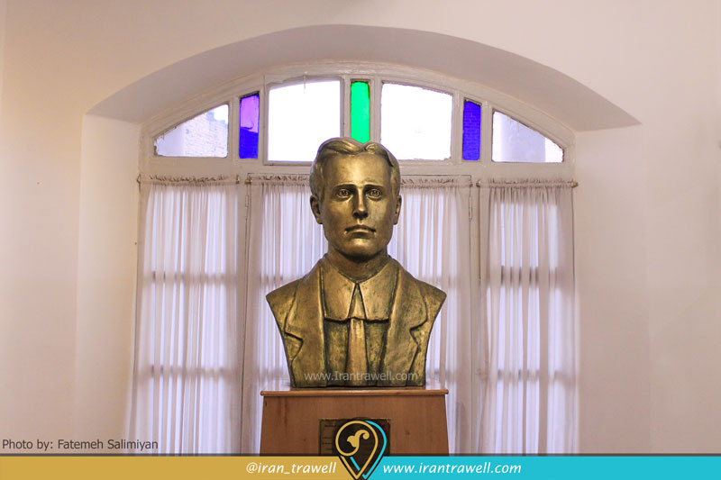 مجسمه ی هوارد باسکرویل