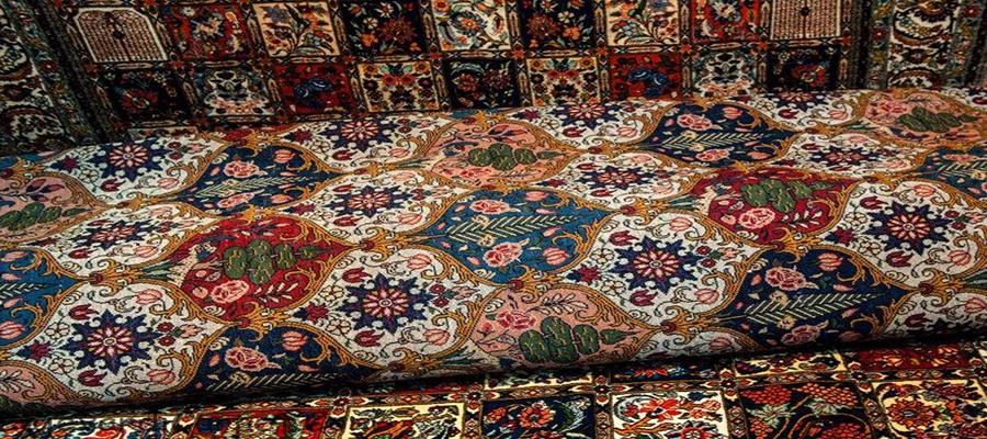 قالی های نفیس کرمان مظهر زیبایی