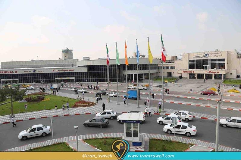 امکانات فرودگاه مهر آباد