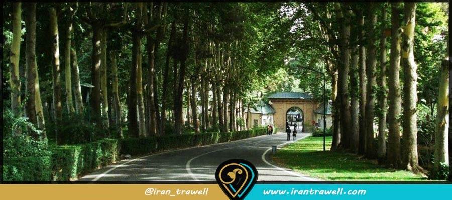 باغهای کاخ سعدآباد