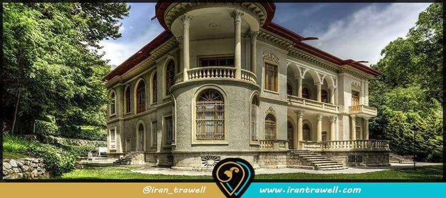 مجموعه کاخهای موجود در کاخ سعدآباد