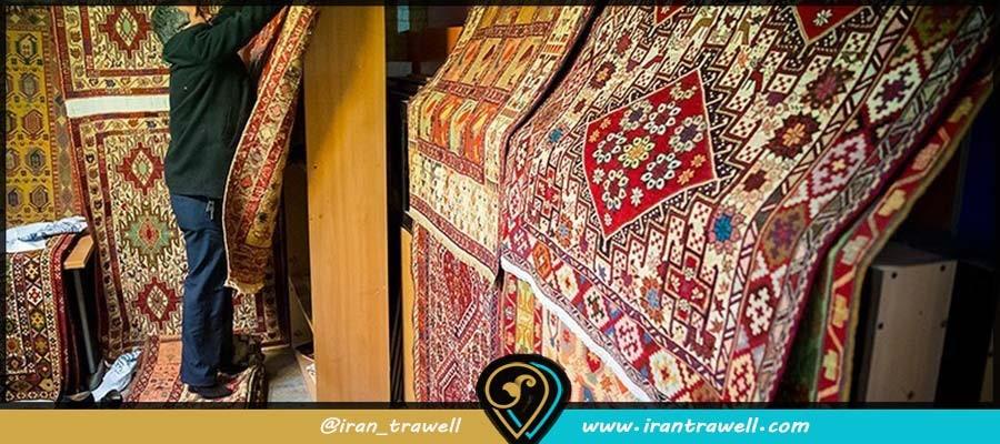 طرح و نقشه فرش ایرانی