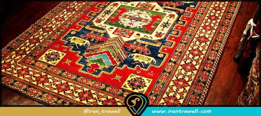 آیینهای قالیبافی در فرش ایرانی