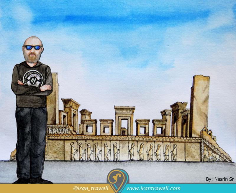 نقاشی فم تریپ ایران