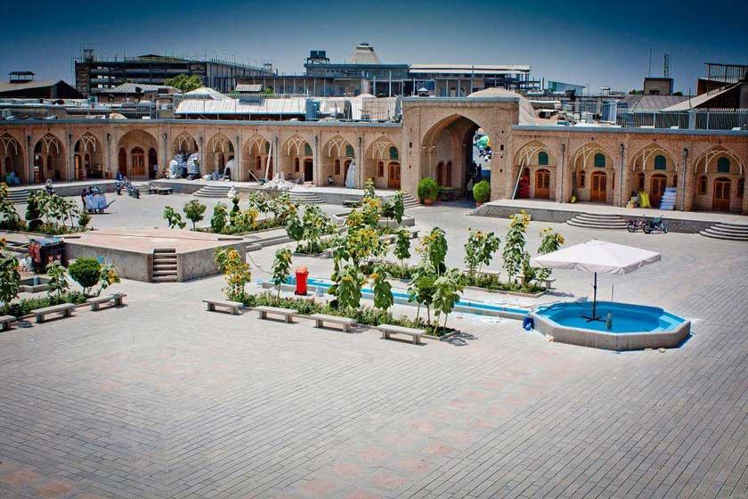 کاروانسرای خانات | مکان های دیدنی تهران