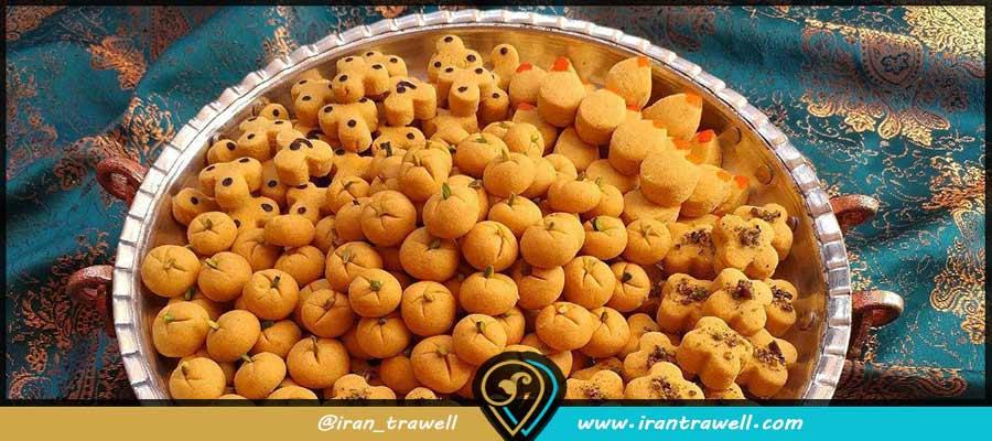 انواع شیرینی سوغات قزوین
