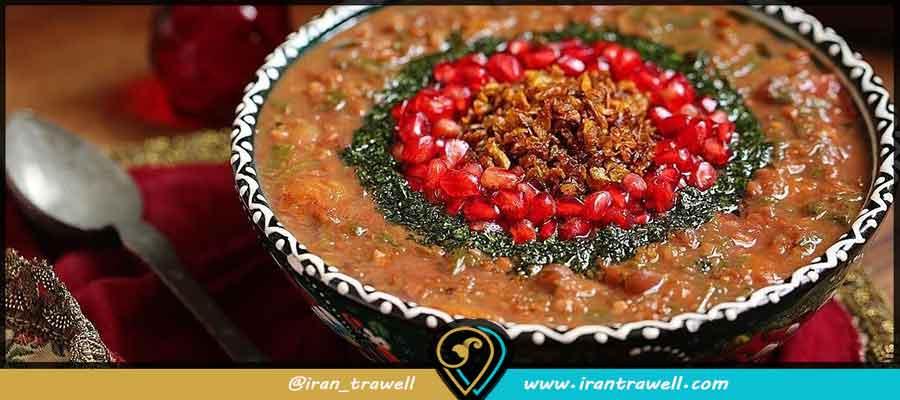 انواع غذاهای معروف شیراز