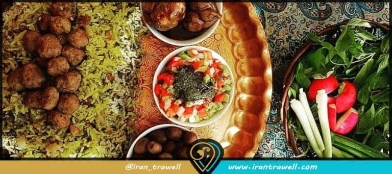 معرفی غذاهای معروف شیراز